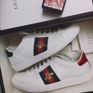 Authentic Gucci Bee Shoes